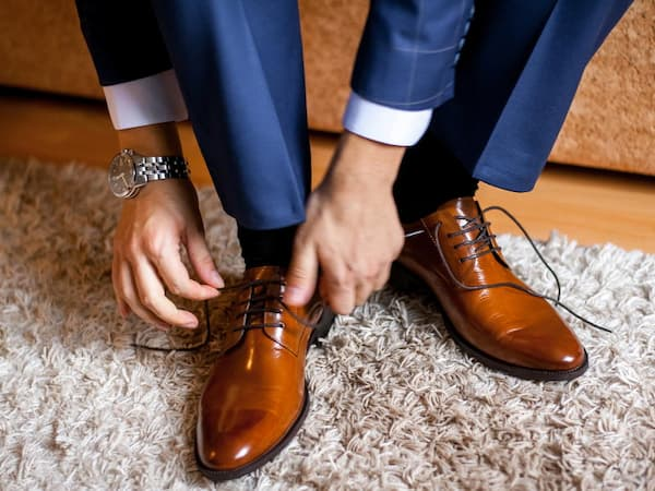 革靴用シューレース